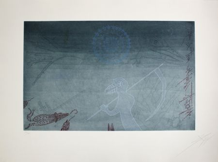 Etching Ponc - La mort dels mosquits (Death of the Mosquitos)