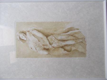 Lithograph Fini - La mort douce