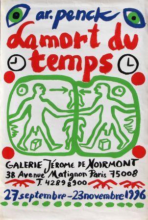 Lithograph Penck - La Mort du Temps