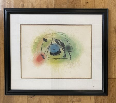 Etching And Aquatint Miró - La Musaraigne (