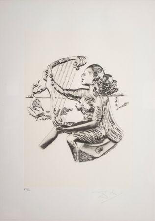 Lithograph Dali - La Musica