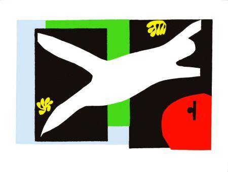 Lithograph Matisse - La Nageuse dans l'Aquarium (The Swimmer in the Tank)