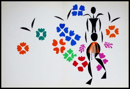 Lithograph Matisse (After) - LA NEGRESSE