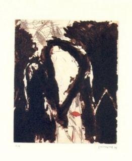 Etching Guinovart - La nit