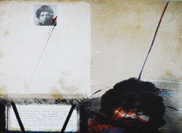 Lithograph Bru - La nomina