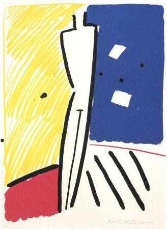 Lithograph Kuroda - La nuit de Barcelona