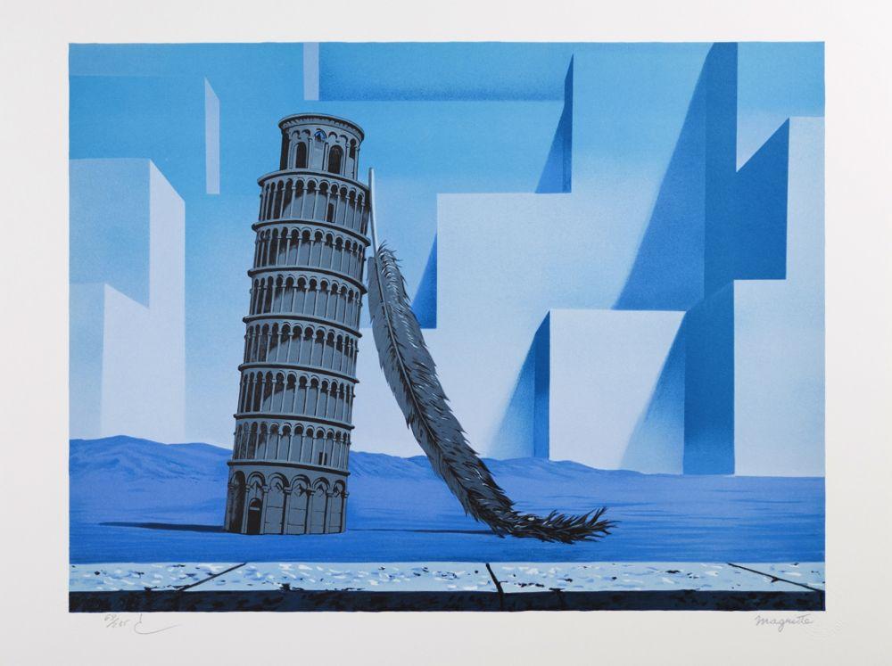 Lithograph Magritte - La Nuit de Pise (Night in Pisa)