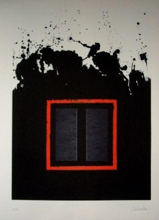 Lithograph Lopez Osornio - La otra geometria 10