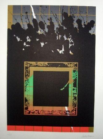 Lithograph Lopez Osornio - La otra geometria 11