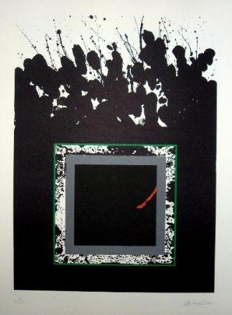 Lithograph Lopez Osornio - La otra geometria 13