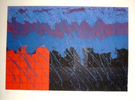 Lithograph Lopez Osornio - La otra geometria 2