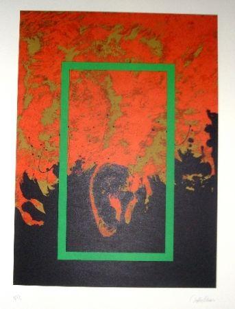 Lithograph Lopez Osornio - La otra geometria 5