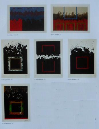 Lithograph Lopez Osornio - La otra geometria _ 6 lithographs