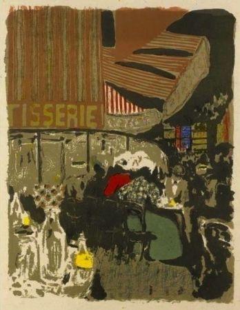 Lithograph Vuillard  - La pâtisserie