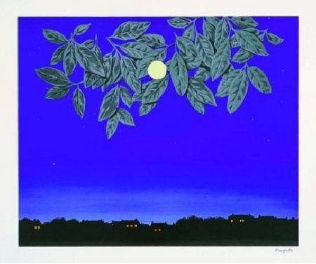 Lithograph Magritte - La page blanche, 1967