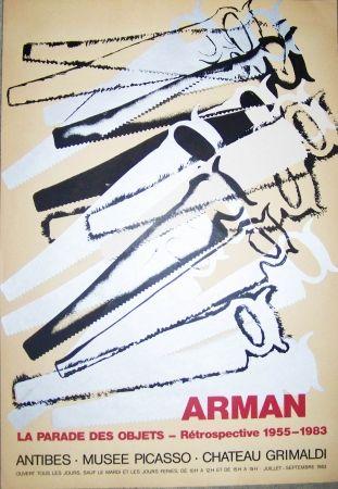 Poster Arman - La parades des objets