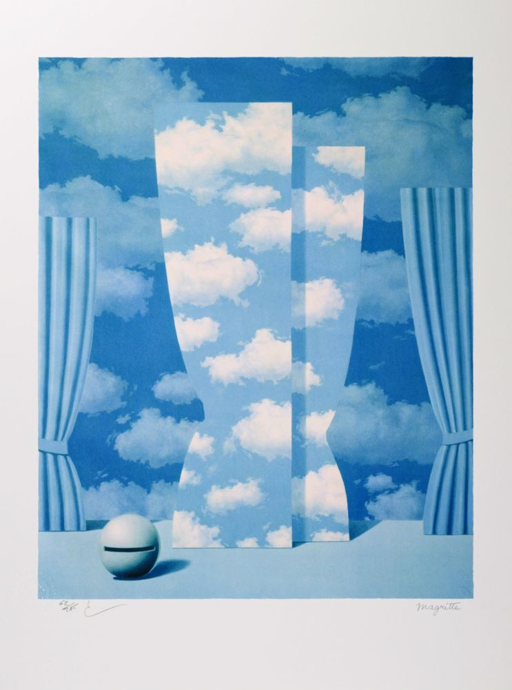 Lithograph Magritte - La Peine Perdue (The Wasted Effort)