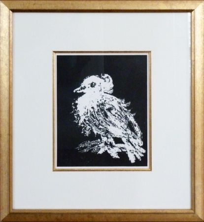 Lithograph Picasso - La Petite Colombe