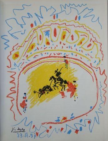 Lithograph Picasso - La petite Corrida