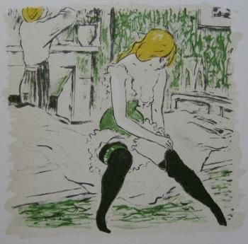 Illustrated Book Bonfils - La petite Jeanne pâle