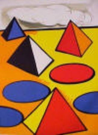 Lithograph Calder - La Piege