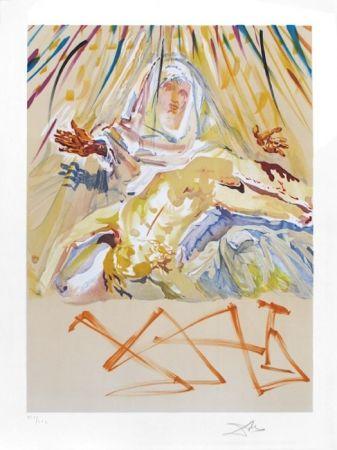 Lithograph Dali - La Pieta Nera (Black Madonna)