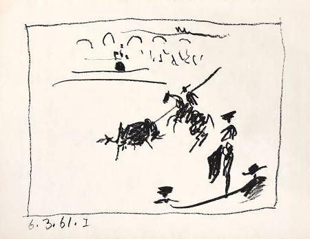 Lithograph Picasso - La Pique