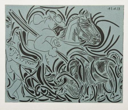 Etching Picasso - La Pique