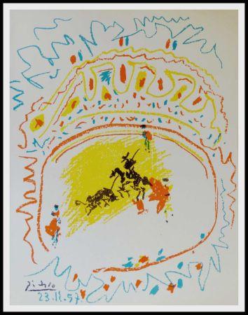 Lithograph Picasso - La Pique (Corrida)