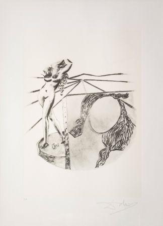 Lithograph Dali - La Pittura