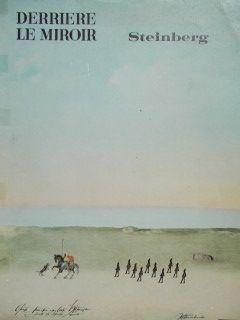 Lithograph Steinberg - La plage