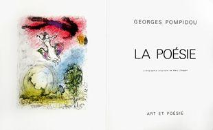 Illustrated Book Chagall - La poésie