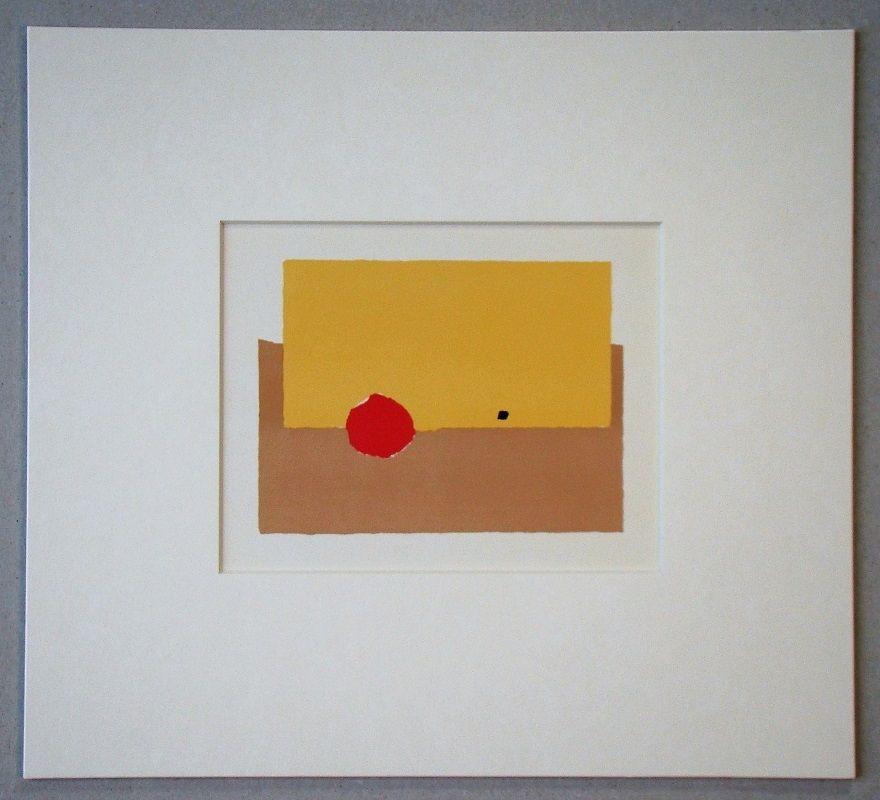 Lithograph De Stael - La Pomme - 1952