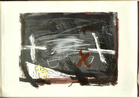 Lithograph Tàpies - La practica de l'art