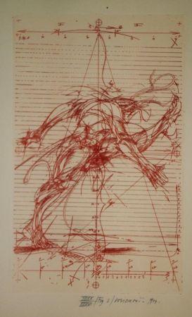 Engraving Velickovic - La prison chiffrée du temps