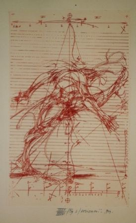 Illustrated Book Velickovic - La prison chiffree du temps - 18 gravures signées