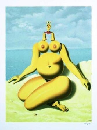 Lithograph Magritte - La Race Blanche, 1937
