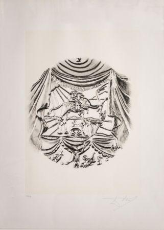 Lithograph Dali - La Recitazione