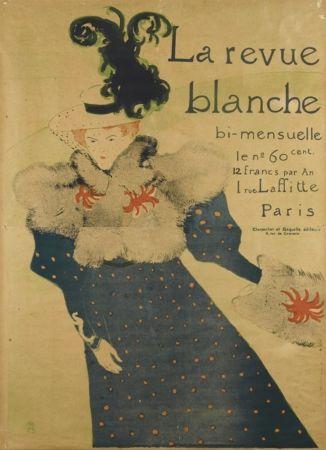 Lithograph Toulouse-Lautrec - La Revue Blanche
