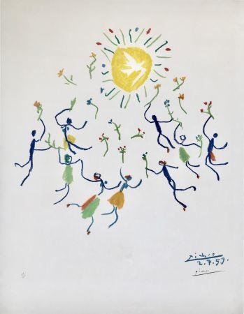 Lithograph Picasso - La Ronde De La Jeunesse (Edition: 200)