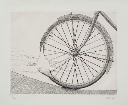 Engraving Malaval - La roue