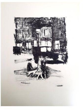 Lithograph Bonnard - La Rue