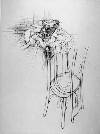 Engraving Bellmer - La sedia
