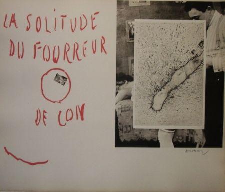 Etching And Aquatint Alechinsky - La solitude du fourreur