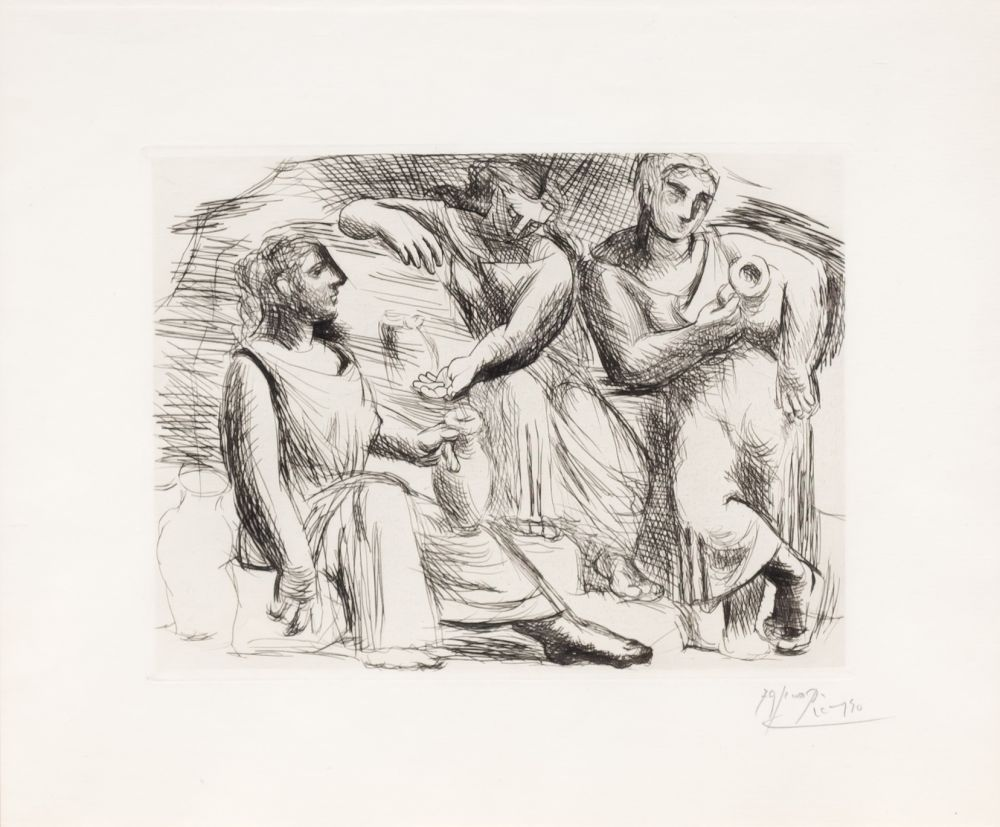 Drypoint Picasso - La Source