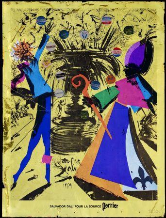 Poster Dali - La Source Perrier