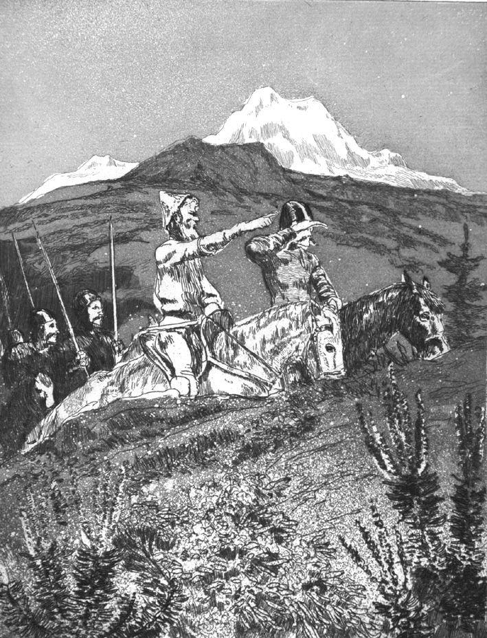 Etching And Aquatint Klinger - La spedizione