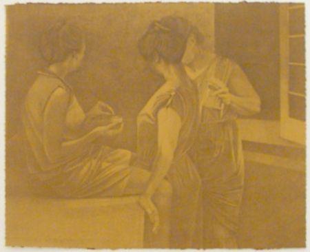 Lithograph Baxter - La Stirairce