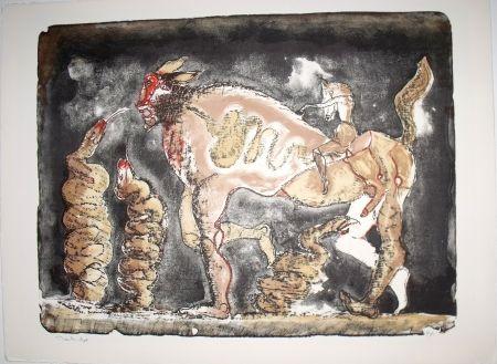 Lithograph Toledo - La Suma de la Serpiente
