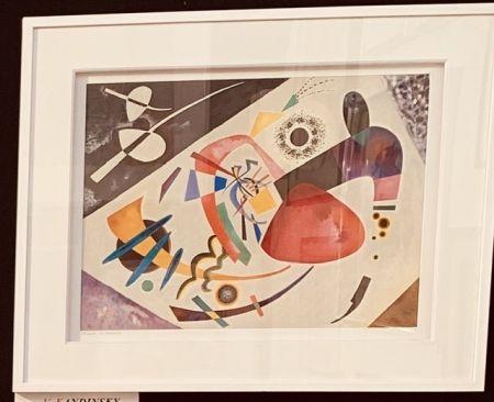 Lithograph Kandinsky - La tâche rouge